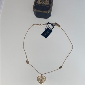 Juicy Couture Double Sided Necklace